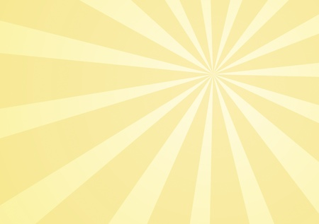 san rays: Yellow background with rays