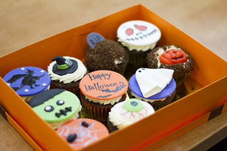Cakes for Halloween in a Box photo