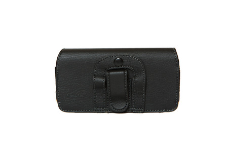 cases: Mobile phone cases. Black