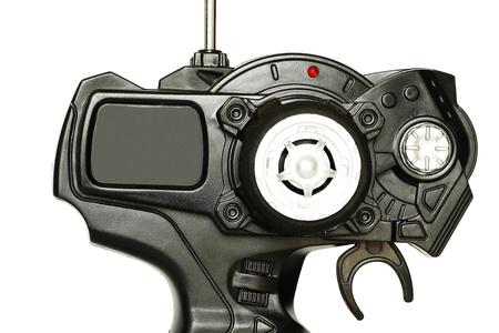 radio unit: Steering wheel type RC controller - detail