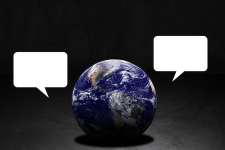 Communication concept, social media and internet background Stok Fotoğraf