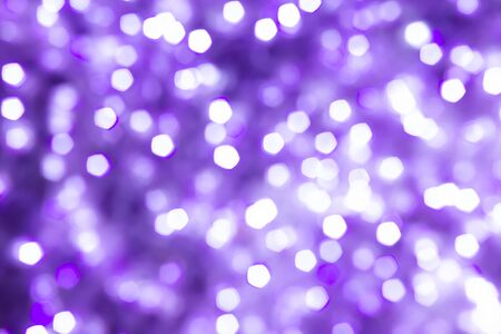 Beautiful purple, violet light circle bokeh abstract background
