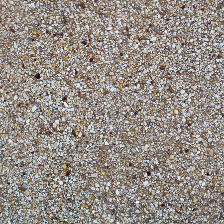 Brown stone gravel