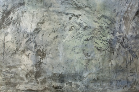 black history: Concrete wall of the panel cement