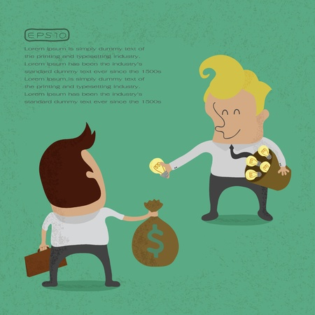 Business sell idea , eps 10 vector format Vector