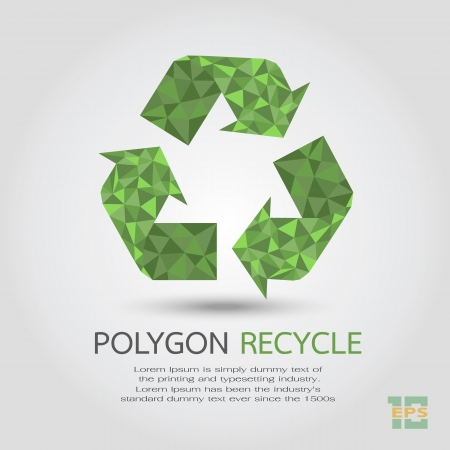 Recycle Symbol , eps10 vector format Vector