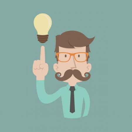 gente exitosa: Empresario obtener idea