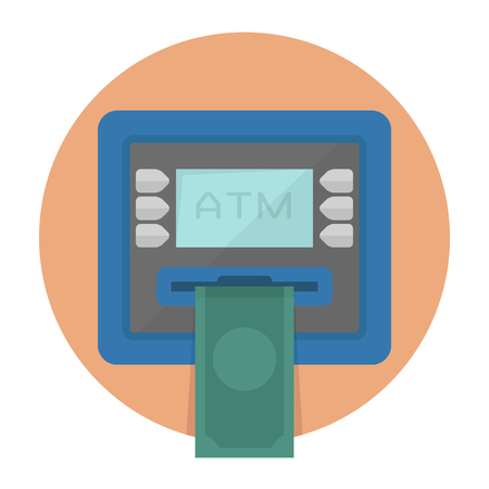 ATM   Stock Vector - 24161028
