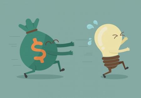 chasing: Money chasing ideas