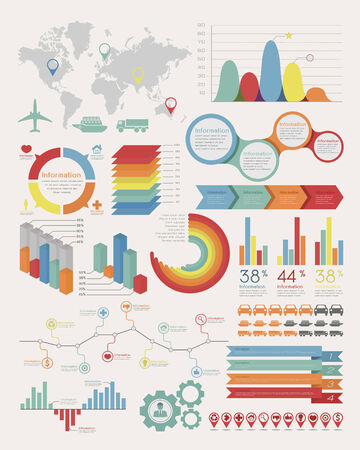 Infographic Elements , eps10 vector format  Vector