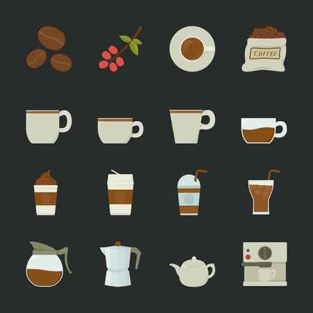 coffee bag: Coffee icon, eps10 vector format Illustration