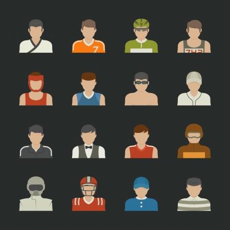 Sport people icon , eps10 vector format Vector