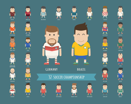 uniforme de futbol: Conjunto de uniforme de la selección nacional de fútbol, ??jugador de fútbol