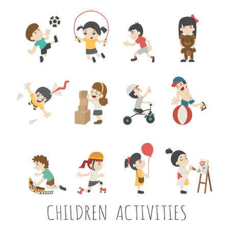 school activities: Children activities
