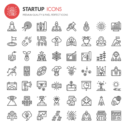 funds: Startup Element Icons , Thin Line and Pixel Perfect Icons