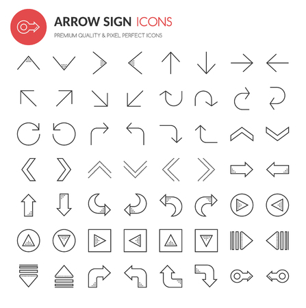 arrow icon: Arrow Sign Icons , Thin Line and Pixel Perfect Icons