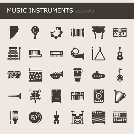cellos: Music Instruments , Thin Line and Pixel Perfect Icons Illustration