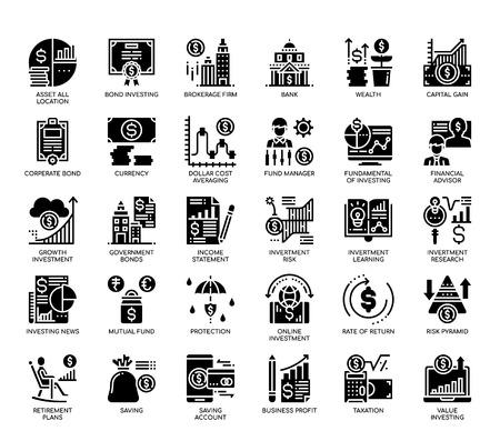 Sparen und Investieren, Glyphensymbole