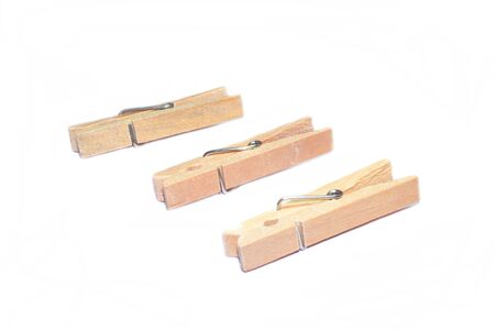 hairpin: Hairpin clip boards isolat Stock Photo