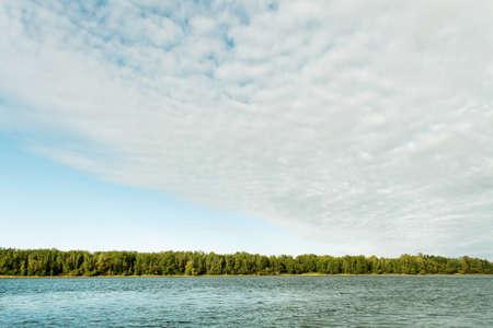 River Daugava in the Latvia country. Stock Photo - 10824350