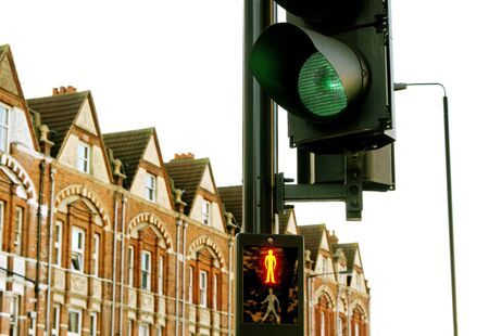 Green signal of traffic light. Stock Photo - 11080821