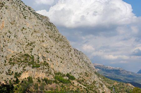 Mountain hamlet at the Delfi district. Stock Photo - 11347504