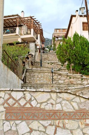 Stairs in a town Delphi. Stock Photo - 11653007