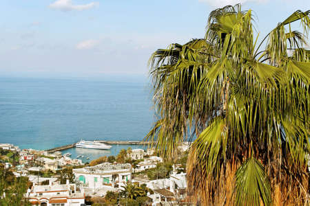Capri island, view to the sea Stock Photo - 12404191