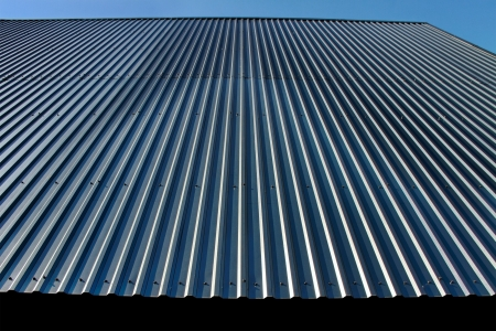 Metal roof is good protection