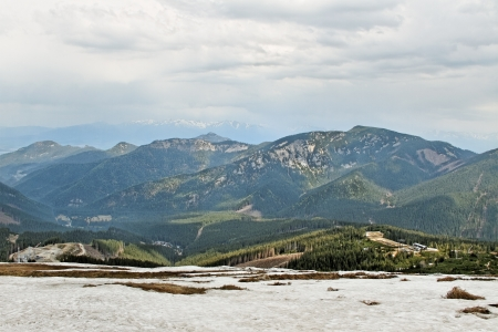 View from the Tatry mountain  photo
