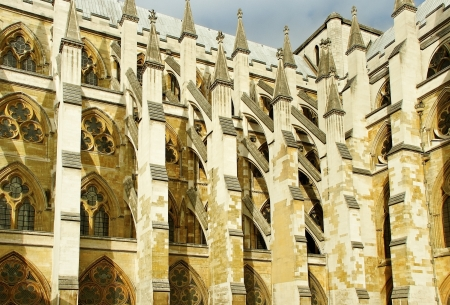 Westminster abbey in a sunny day  photo