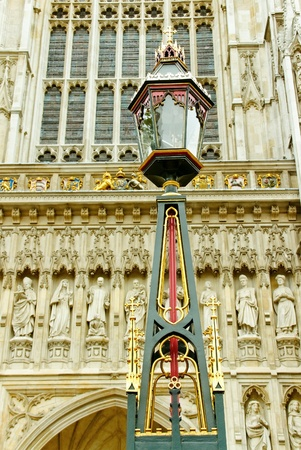 Detail of the Westminster abbey  photo