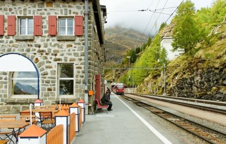 Train to the Tirano from Switzerland