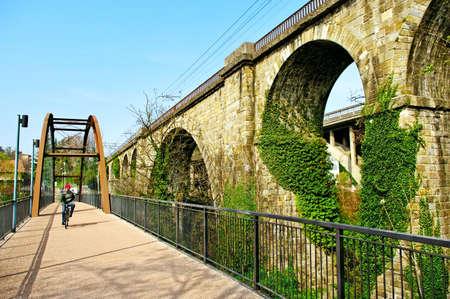 amp tower: Old bridge in small Italy sity, Ponte Sant Pietro