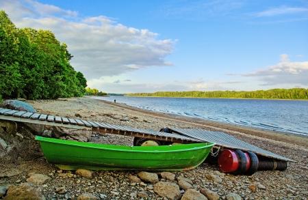 D'étiage de la rivière Daugava en Lettonie Banque d'images - 16330816