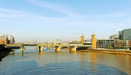 London bridge over River Thames  photo
