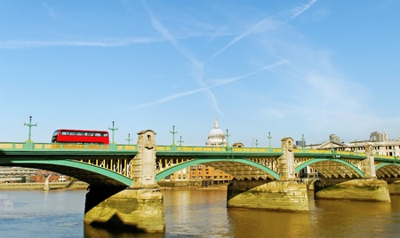 London bridge over River Thames  photo
