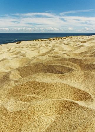 L'isthme de Courlande, dune Baltique. Banque d'images - 21609807