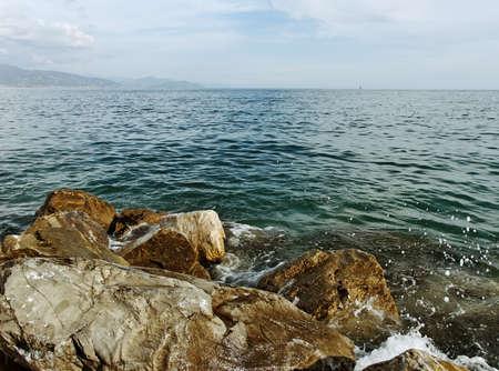 monterosso: At the Mediterranean sea in Monterosso.