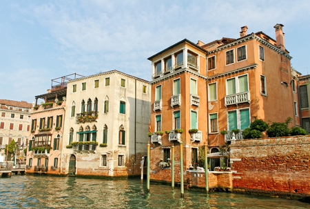 View of the Grand Canal Venice, Italy. photo