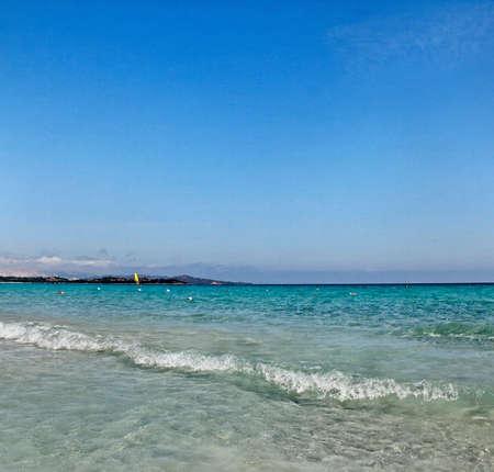 golfo: View to the Golfo Aranci coastline, Italy.