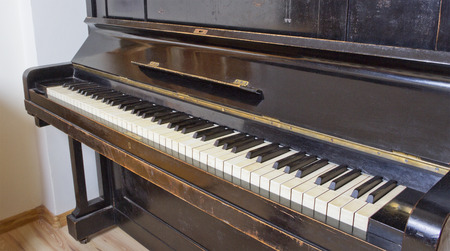 Old piano into a flat.