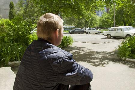 adult rape: Boy, who lives  in housing estate.