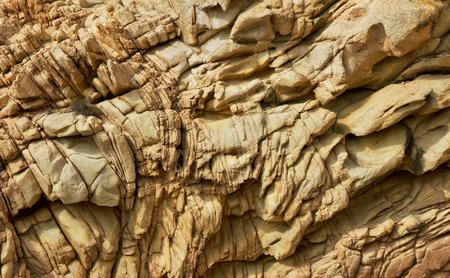 Couches de la falaise brun. Banque d'images - 30911268