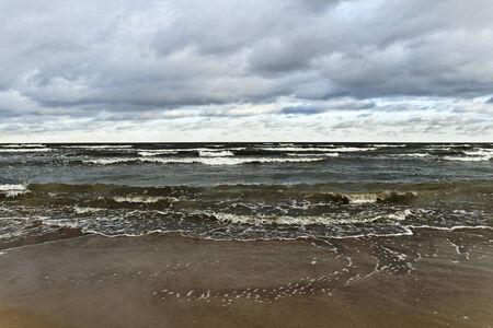 natural moody: Moody Baltic sea, natural view.