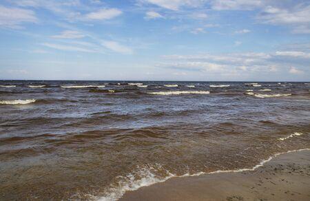 baltic sea: Moody Baltic sea in an autumn.