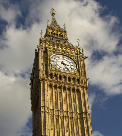 north end: Big Ben is the nickname for the Great Bell of the clock at the north end of the Palace of Westminster in London, UK.