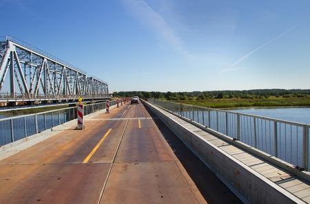 bypass: Bypass bridge over the river.