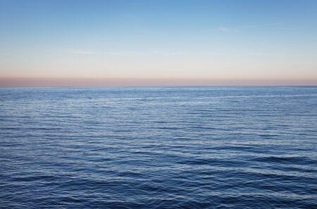 baltic sea: Dark Baltic sea in an evening.