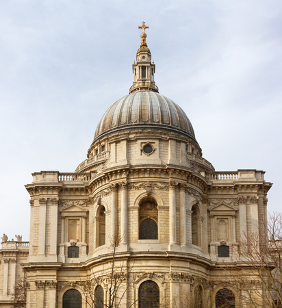 typically british: St Pauls Cathedral in London, UK.